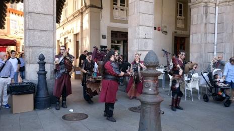Keltische doedelzakmuziek