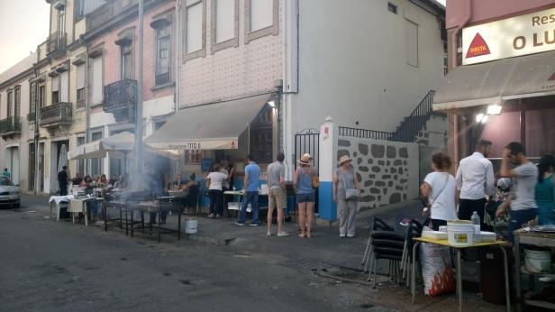 Straat bbq Matosinhos