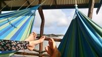 Lekker luieren, weekend in Bigi Pan