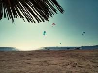 Kitesurfen!